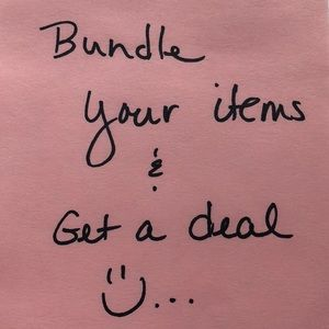 Bundle items and get a great deal.